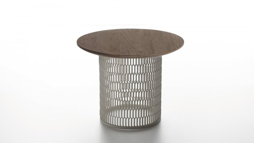 mesh side table by patricia urquiola
