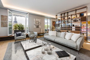 Art Homes Concept - A Luxury apartment in the hearth of Paris