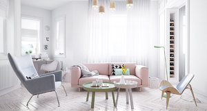 SCANDINAVIAN DESIGN IN PASTEL TONES