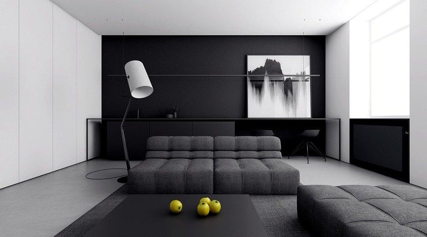 MINIMALIST LIVING ROOM DESIGN — MyDecor