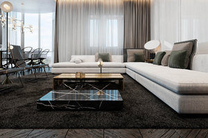 LIVING ROOM MINIMALIST AND MODERN DESIGN