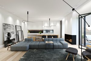 MINIMALIST APARTMENT IN SHADES OF GRAY