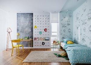 CREATIVE CHILDREN'S BEDROOM