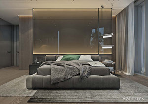 ROOM WITH SOPHISTICATED DESIGN