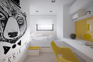 MODERN ROOM INSPIRATION WITH YELLOW DETAILS