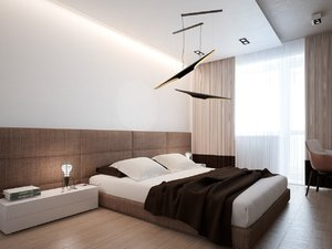 ROOM WITH MODERN AND SOFT DESIGN