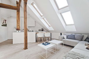 HOUSE IN THE ATTIC CONTEMPORARY DESIGN