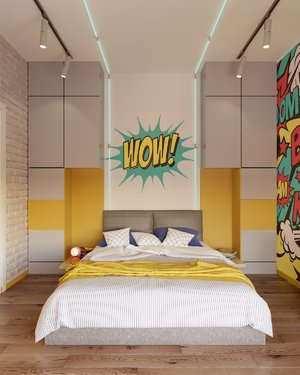 INSPIRED BEDROOM IN QUADRINHOS STORIES